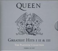 Queen. Greatest Hits I II & III. The Platinum Collection (3CD)