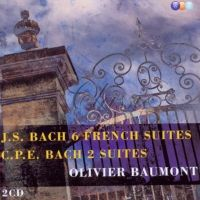 Olivier Baumont. Bach: 6 French Suites, Etc. (2CD)