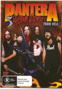 Pantera: 3 Vulgar Videos From Hell (2DVD)